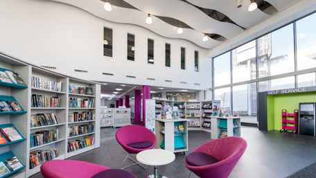 New library opens in Milton Keynes