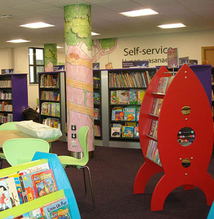 Caerphilly Library and Customer Service Centre 06