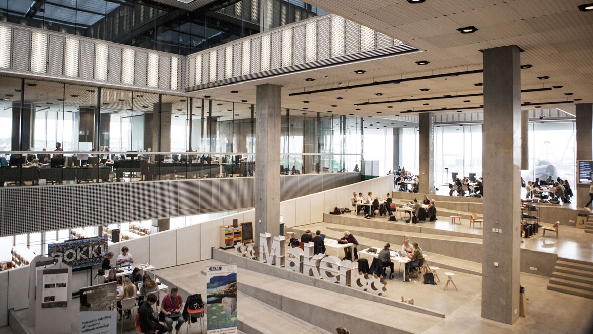 Dokk1: Impressions of an impressive library