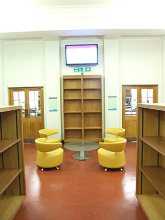 UCL Library Services Main Library Phase 1B 04